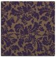 rug #958605 | square mid-brown rug