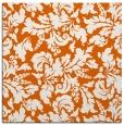 rug #958641   square red-orange natural rug