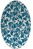 rug #958847 | oval natural rug