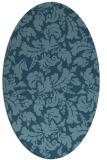 rug #959024 | oval traditional rug