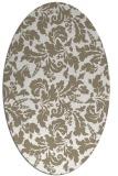 rug #959026 | oval traditional rug