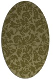 rug #959065 | oval light-green rug