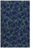 rug #959125 |  blue-green natural rug