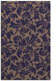 rug #959193 |  blue-violet natural rug