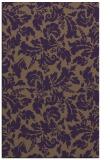 rug #959325 |  purple natural rug