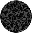 rug #959453   round black natural rug