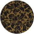 rug #959465 | round black natural rug