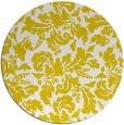 rug #959761 | round yellow natural rug