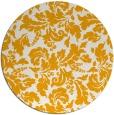 rug #959789 | round light-orange natural rug