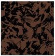 rug #961981 | square brown rug