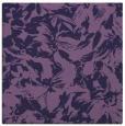 rug #962065 | square purple natural rug