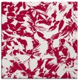 rug #962085 | square red rug