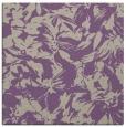 rug #962149 | square purple natural rug
