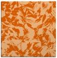 rug #962233 | square red-orange natural rug