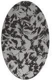 rug #962537   oval orange popular rug