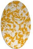 rug #962669   oval light-orange natural rug