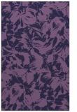 rug #962785 |  blue-violet rug
