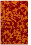 rug #962885 |  red-orange natural rug