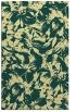 rug #963009 |  blue-green natural rug