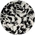 rug #963049   round white natural rug