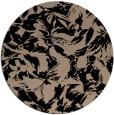 rug #963057 | round beige natural rug