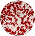 rug #963293 | round red popular rug