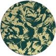 rug #963369   round blue-green natural rug
