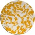 rug #963389 | round light-orange natural rug