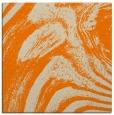 rug #963765 | square orange stripes rug