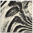 rug #963789 | square black stripes rug