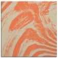 rug #963973 | square orange stripes rug