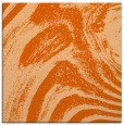 rug #964033 | square red-orange abstract rug