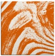 rug #964041 | square red-orange abstract rug