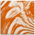 rug #964041 | square red-orange stripes rug