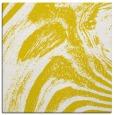rug #964081   square yellow abstract rug