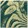 rug #964089 | square yellow stripes rug