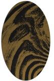 rug #964145 | oval black graphic rug