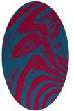 rug #964250   oval abstract rug