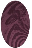 rug #964288 | oval stripes rug