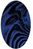 rug #964298   oval abstract rug