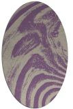 rug #964310 | oval abstract rug
