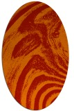 rug #964377 | oval abstract rug