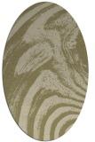 rug #964467 | oval natural rug