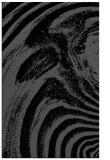 rug #964493 |  black abstract rug
