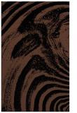 rug #964501 |  black abstract rug