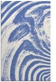 rug #964533 |  blue stripes rug
