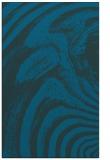 rug #964553    blue abstract rug