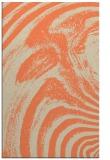 rug #964693 |  orange abstract rug