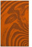 rug #964757 |  red-orange abstract rug