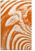 rug #964761 |  red-orange abstract rug